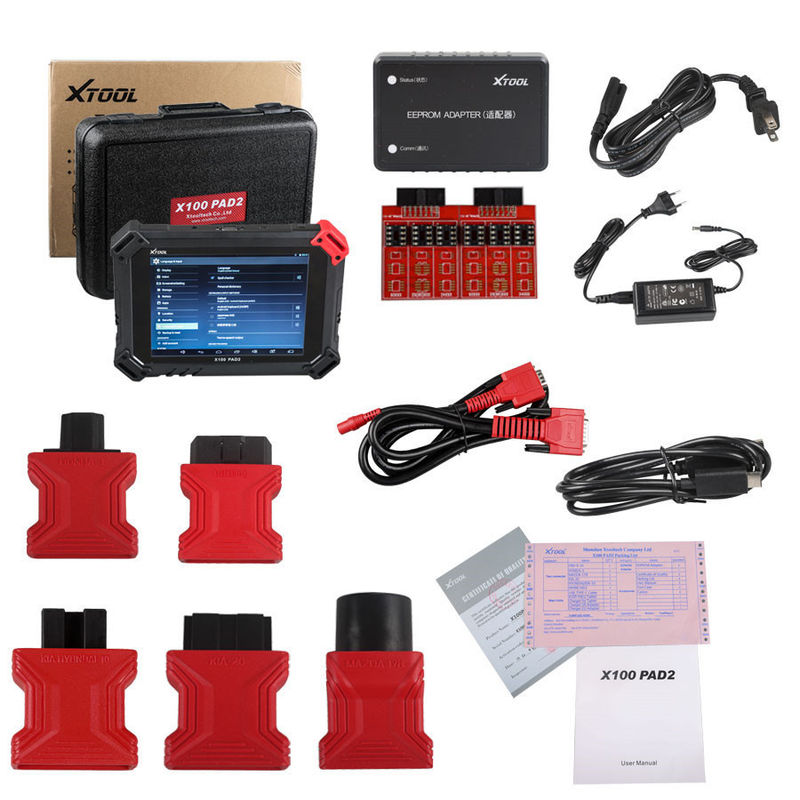XTOOL X-100 PAD2 Car Key Programmer Special Functions Expert with VW 4th & 5th IMMO